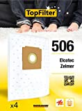 TopFilter 506 FLEECE Vacuum Cleaner Bags Zelmer Pack of...