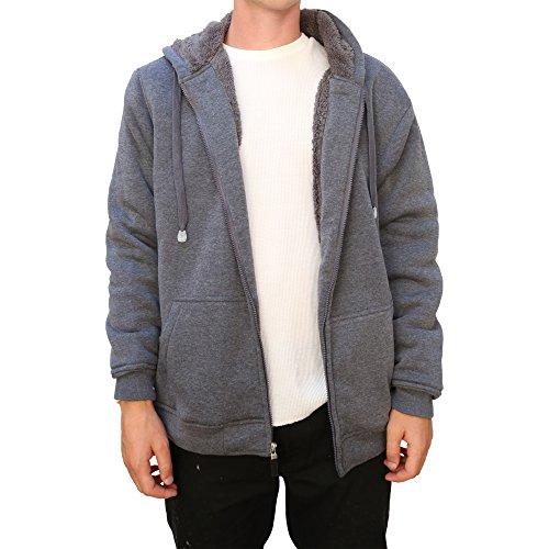 Fur Lined Hoodie - 9