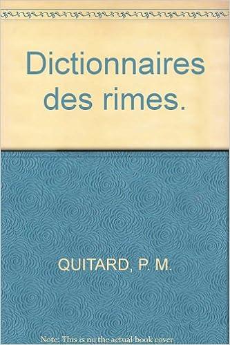 En ligne Dictionnaires des rimes. pdf