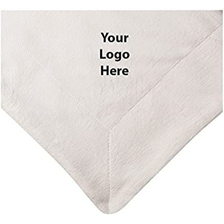 Micro Mink Sherpa Blanket 12 Quantity 45 10 Each PROMOTIONAL PRODUCT BULK BRANDED With YOUR LOGO CUSTOMIZED