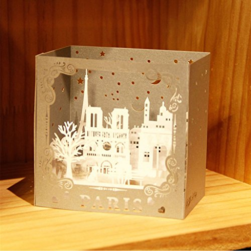 Greeting cards,Styleshop 3D Pop Up Sculpture Greeting Cards Christmas Birthday Valentine Invitation