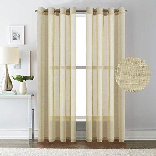 From USA H Versailtex Extra Long Curtains Window