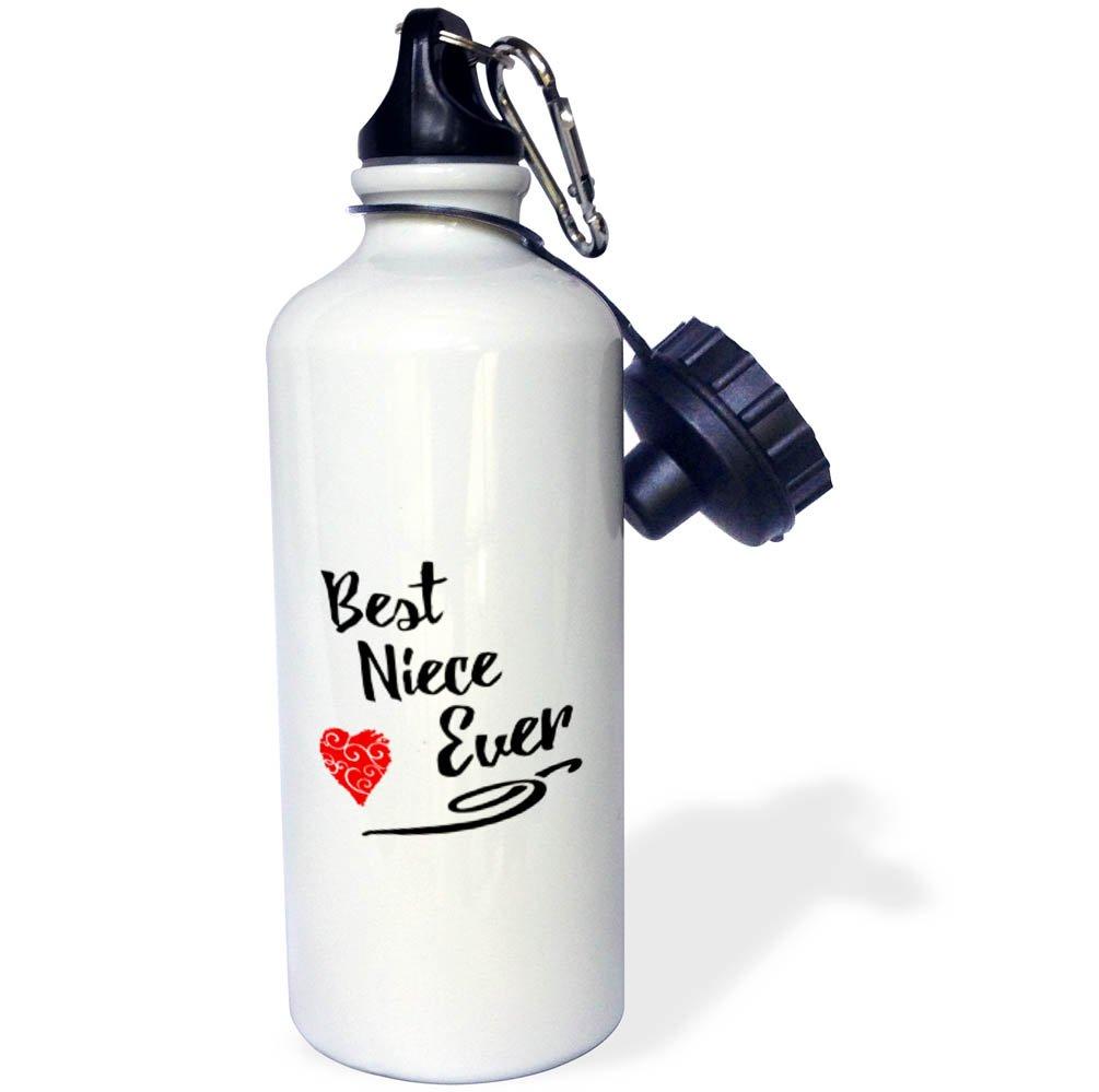 3D Rose wb/_255230/_1 Sports Water Bottle 21 oz White