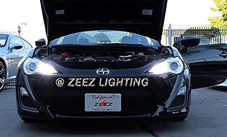LED High Beam Daytime Running Light DRL Conversion Kit w// 6000K 9005 Hi-B Bulbs ZEEZ DRL