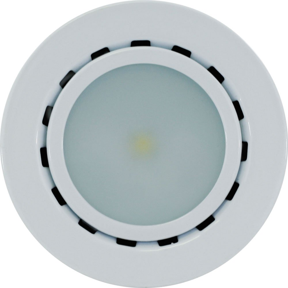 liteline ucp led1 wh led puck light 12v white under counter