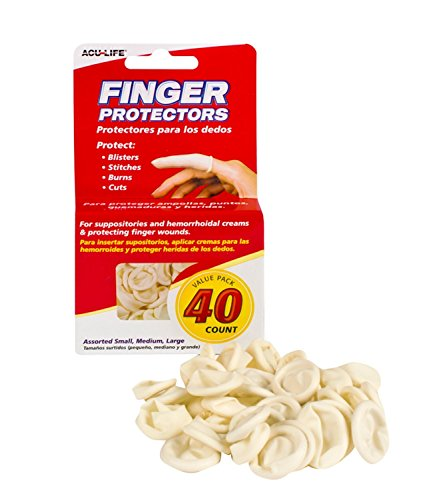 (Acu-Life Rubber Finger Cots (40 Count))
