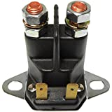 DB Electrical SSE6015 Remote Starter Solenoid Relay (Lawn Tractor Mower Universal 12 Volt Isolated Ground)