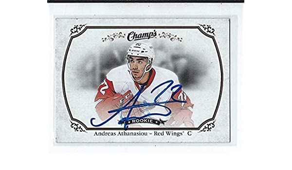 41c1a70b5 Andreas Athanasiou Signed 2015 16 Champs Rookie Card  159 - Hockey Slabbed  Autographed Rookie Cards at Amazon s Sports Collectibles Store