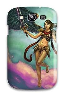 Galaxy High Quality Tpu Case/ Angel Warrior FSAqNRZ20545rkMbG Case Cover For Galaxy S3