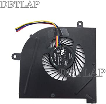 DBTLAP CPU Ventilador Compatibles para MSI GS63VR GS73VR 6RF 7RF ...