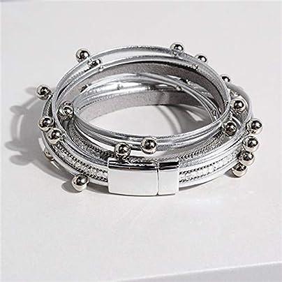 ZUOZUO Leather Wristband Leather Bracelet Charm Leather Bracelet Women S Jewelry Estimated Price £18.99 -