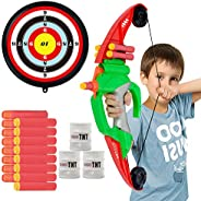 NextX Bow and Arrow Set for Kids- Archery Toy Set with Target Outdoor Sport Game(Over 100ft)