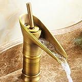 Basin Mixer Tap Antique copper faucet art basin accessory antique faucet Antique bronze wine glass faucet ( Size : B )