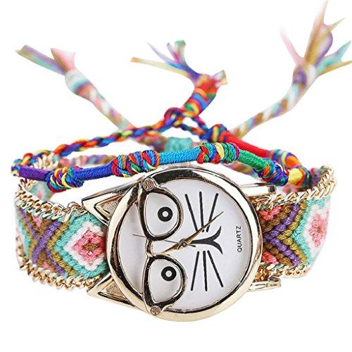 Women Quartz Watch,Hosamtel Handmade Vintage Glasses Cat Friendship Ladies Watch A76 - Ebay Glasses Vintage