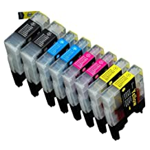 8 Pack Compatible Brother LC-71 , LC-75 2 Black, 2 Cyan, 2 Magenta, 2 Yellow for use with Brother MFC-J280W, MFC-J425W, MFC-J430W, MFC-J435W, MFC-J5910DW, MFC-J625DW, MFC-J6510DW, MFC-J6710DW, MFC-J6910DW, MFC-J825DW, MFC-J835DW. Ink Cartridges for inkjet printers. LC-71BK , LC-71C , LC-71M , LC-71Y , LC-75BK , LC-75C , LC-75M , LC-75Y © Zulu Inks