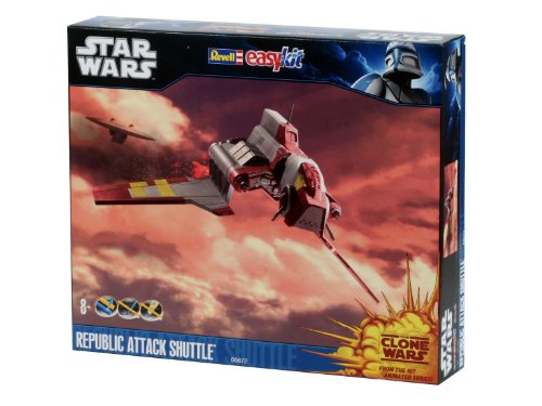 Revell Star Wars Clone Wars Republic Attack Shuttle Easykit