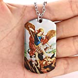 FAYERXL Catholic Gifts St Michael The Archangel