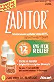 Alcon Zaditor Twin Pack Eye-Drops, 0.34 Ounce