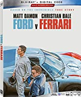 Ford v Ferrari Blu-ray
