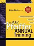 The 2007 Pfeiffer Annual: Training (w/ CD)