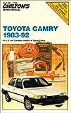 Toyota Camry, 1983-1992, Chilton Automotive Editorial Staff, 0801983118