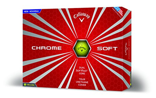 Callaway-Chrome-Soft-2016-Golf-Balls-One-Dozen