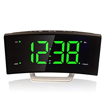 Reloj Despertador para los durmientes Pesados Relojes de Escritorio en la habitación de la