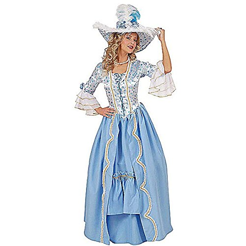 [Ladies 18th Century English Royal Court Dress Costume Large Uk 14-16 For] (18th Century Costumes Uk)