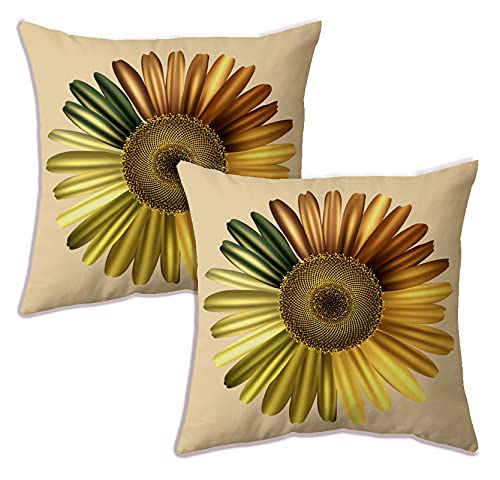 Livery home 100% Polyester and Sparkle Velvet Digital Printed Cushion Covers, Polo – Set of 2 Pcs, Beige – 24×24 [PL-203]