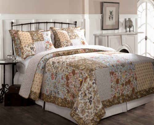Greenland Home Camilla Quilt Set, Twin