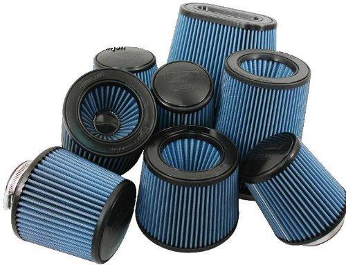 Injen Technology X-1014-BB 3 AMSOIL Ea Nano-Fiber Black and Blue Air Filter by Injen