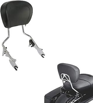 XFMT Detachables Sissy Bar Upright Backrest Sissy Bar Compatible with Harley Touring Street Glide Road King 2009-2019
