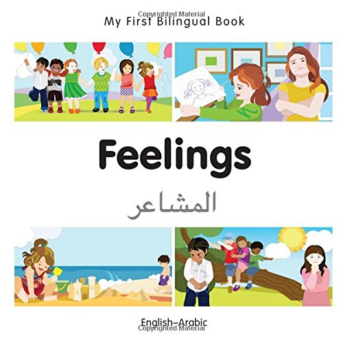 My First Bilingual Book–Feelings (English–Arabic)