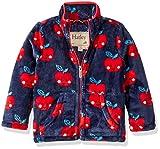 #4: Hatley Girls' Fuzzy Fleece Full Zip Jackets