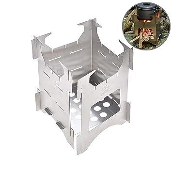 LeKing--Estufa de Campo al Aire Libre, Estufa portátil de leña, Estufa de Camping al Aire Libre: Amazon.es: Deportes y aire libre