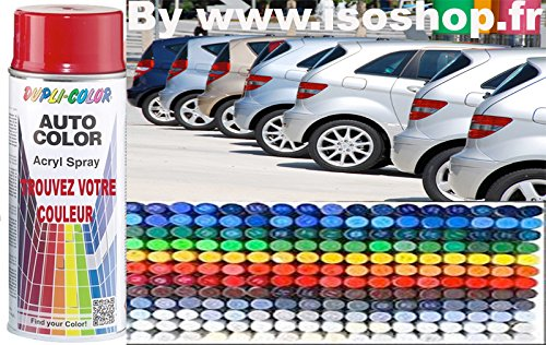 Dupli Aerosol vernice Automobile FIAT 176-rosso passionale 806988  Spray 400  ml Isoterm France