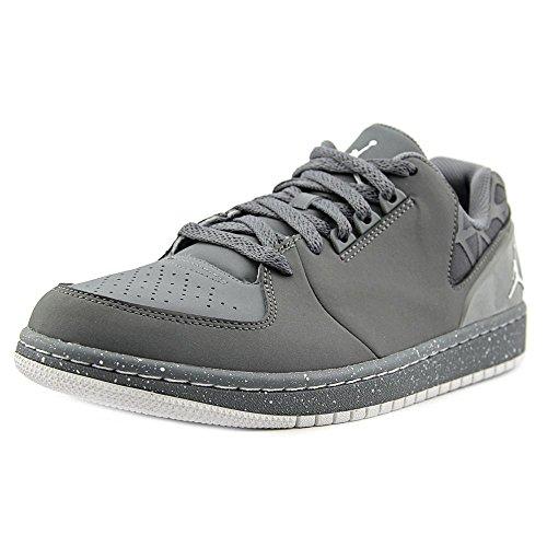 Jordon 1 Flight 3 Low Prem Basketball Shoes (9.5 M(US), Cool Grey/White) (Jordan Flight 1 Low)