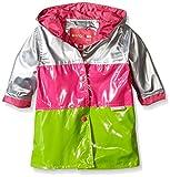 Wippette Baby Color Block Rainwear, Pink Glow, 24 Months