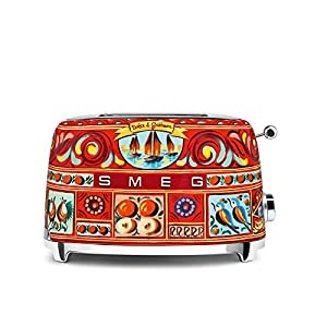 """Dolce and Gabbana x Smeg 2 Slice Toaster, """"Sicily Is My Love,"""" Collection 12"""