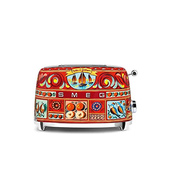 """Dolce and Gabbana x Smeg 2 Slice Toaster, """"Sicily Is My Love,"""" Collection 1"""