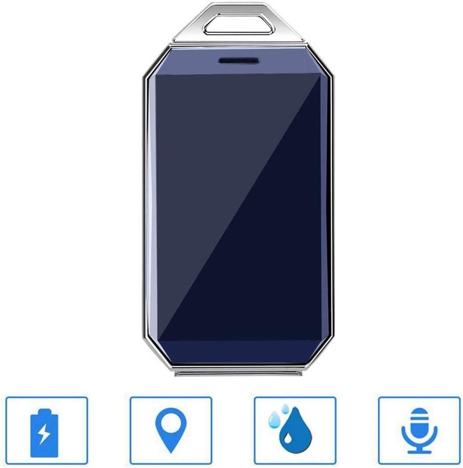 Rastreador GPS personal, Mini localizador GPS Dispositivo de seguimiento en tiempo real, Localizador anti pérdida para niños Mascotas Ancianos Registrador de vehículos, Localizador personal con contro