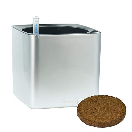 Amazon.com: Maceta de riego automático con suelo de fibra de ...