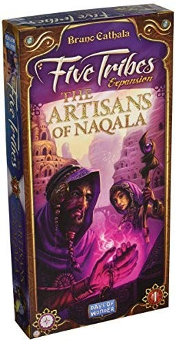 (Five Tribes: The Artisans of Naqala Expansion)