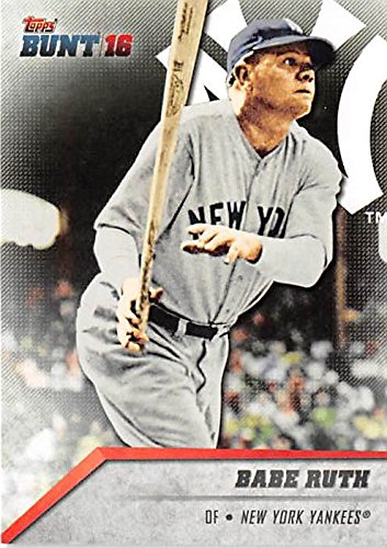 Babe Ruth baseball card (New York Yankees Bambino) for sale  Delivered anywhere in USA
