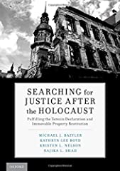 The Nazis and their state-sponsored cohorts stole mercilessly from the Jews of Europe. In the aftermath of the Holocaust, returning survivors had to navigate a frequently unclear path to recover their property from governments and neighbors w...