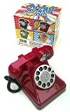 Toy! Piggy Bank Design Old Red Telephone,miss You! (Rare Item)