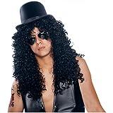 Curly Rocker Dude Costume Deluxe Wig