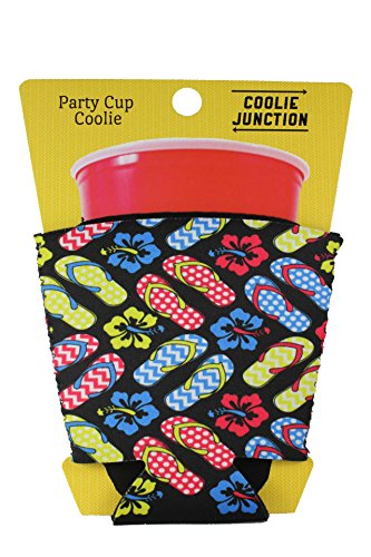 Coolie Junction Flip Flop Pattern Solo Cup Coolie