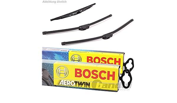 Bosch Aerotwin - Escobillas para limpiaparabrisas delantero A979S y trasero A330H: Amazon.es: Coche y moto