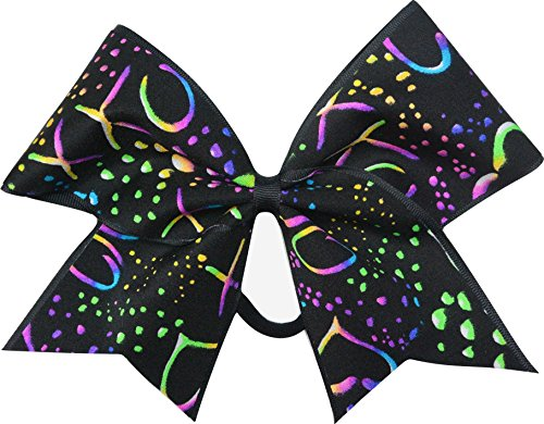Sparkle Bows Cheer Valentines Day Cheer Bow (Hugs and Kisses) -